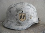 M40 STYLE FINLAND ISSUED WAFFEN SS SD WINTER CAMO (Restored)