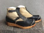 RARE TROPICAL LATE WAR CANVASS HOBNAILED BOOTS